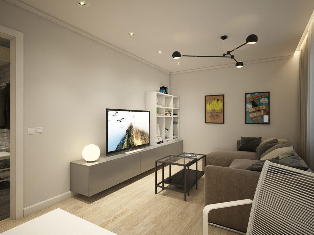Современное жилье в стиле IKEA